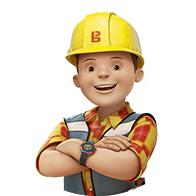 Personalisiertes Kindebuch mit Titel: Bob der Baumeister und ich
