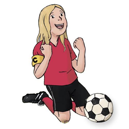 Personalisiertes Kinderbuch: Mein großes Fußballspiel.